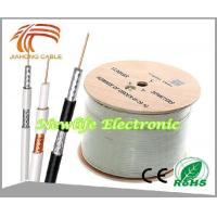 Wholesale 75ohm RG6 Coaxial Cable CCS/60% Coverage 1000FT from china suppliers