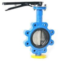 One stem no-pin lug butterfly valve