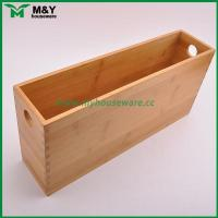 Wholesale MY2-6031 Bamboo Storage Organizer with Handle from china suppliers