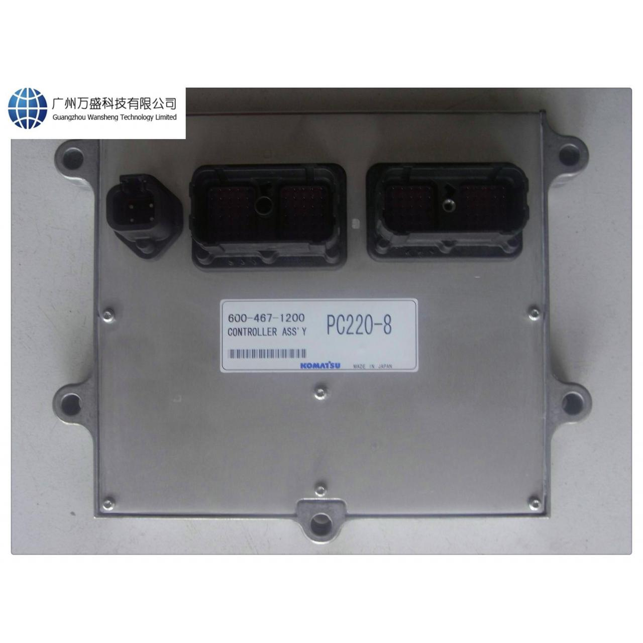 Wholesale 600-467-1200 Komatsu PC220-8 Controller Ass'y Engine Control Computer from china suppliers