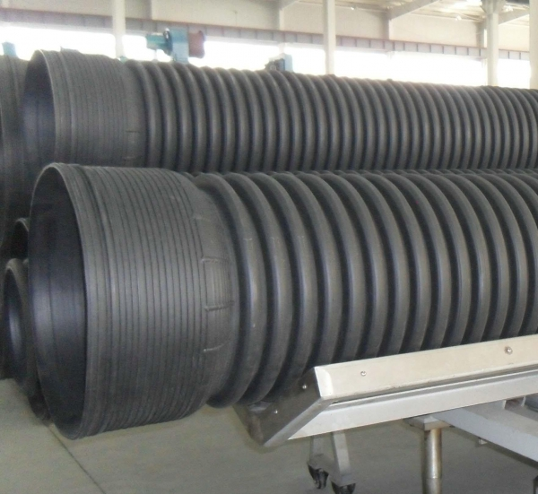 Hdpe corrugated drainage pipe of item
