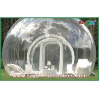 Portable Outdoor Inflatable Bubble Tent Custom Giant Transparent Lawn Tent