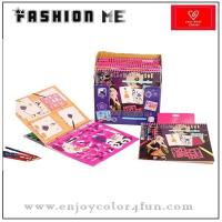 China coloring book fashion design sketch book on sale