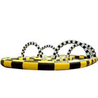 Wholesale Inflatable track race, inflatable kart track ,inflatable sport games from china suppliers