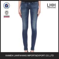 Wholesale Europe style plain skinny jeans for women from china suppliers