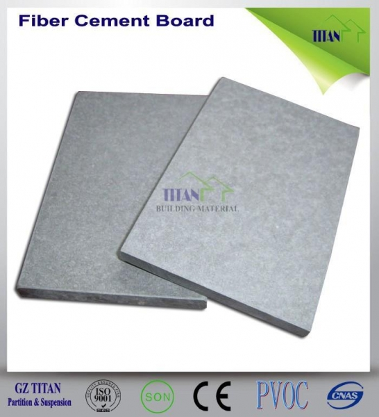 Grey Cement Board : Reinforced fire resistant mm grey cement fiber board of