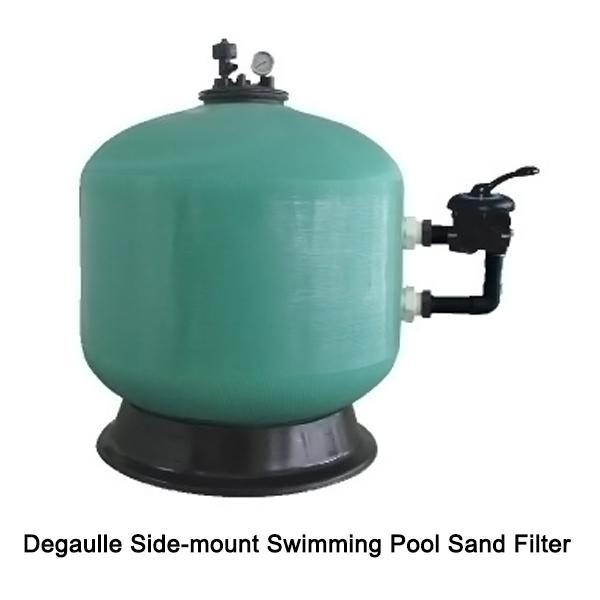 Degaulle Side Mount Swimming Pool Sand Filter Of Item 43240902