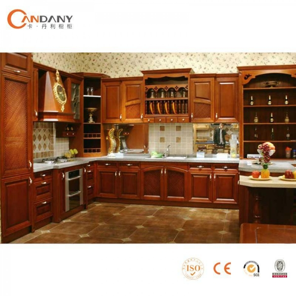 Solid wood walnut kitchen cabinets 43307351 for Solid wood kitchen cabinets
