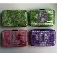 Wholesale Aluminum Card Wallets/Diamond coated/letter from china suppliers