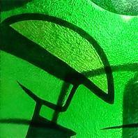 Buy cheap Bright Green glass for doors with CE-EN standard from wholesalers