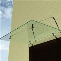 Buy cheap outdoor glass canopy from wholesalers