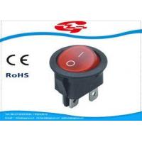 Buy cheap ON OFF 4 Terminals Electrical Rocker Switches 6A 250V AC from wholesalers