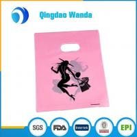 Wholesale Plastic Merchandise Die Cut Bag for Trade Show Garage Sales Events from china suppliers