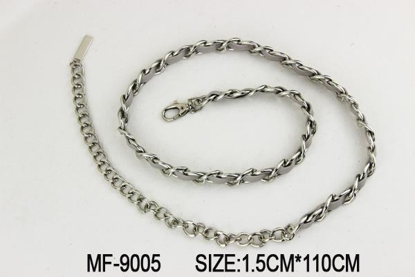 Quality swivel lobster claw clasp Silver Chain Belt With Lobster Clasp for sale