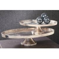 Buy cheap Display Risers - Aluminum Oval Display Tray Stands from wholesalers