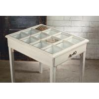 Buy cheap Side Table - Glass Window Pane Display from wholesalers