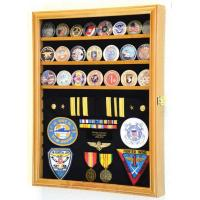 Wholesale Display Case - Military Challenge Coin, Ribbon & Insignia from china suppliers