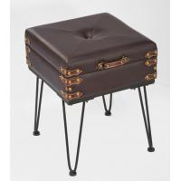Wholesale Accent Table - Small Padded Suitcase Bench from china suppliers