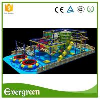 High quality climbing wall rope adventure challenge course playground