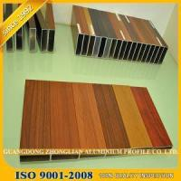 Buy cheap Wood Grain Aluminium Extrusion Profile for Furnitures Decoration from wholesalers