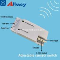 China 5.8GHz Microwave Sensor Motion Detector Light Switch on sale