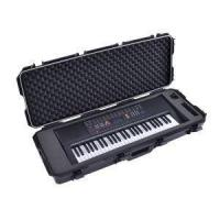 Quality Easy Carrying Hard Case with Wheels for 61 Note/key Musical Keyboard, Performance, Rock Concert for sale