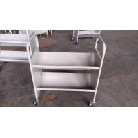 Wholesale Steel Book Shelf Assembled Movable Library Steel Book Carrier from china suppliers