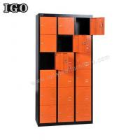 Wholesale Metal Locker Hot Sale 18 Doors Metal Storage Locker For Sale from china suppliers