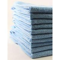 Wholesale MICROFIBER 12 PK CLEANING TOWELS. (18 X 18 BLUE) from china suppliers
