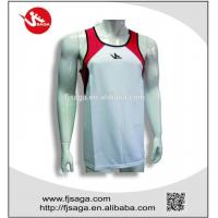 China Polyester Running Vest Sports running T-shirt for men and women on sale