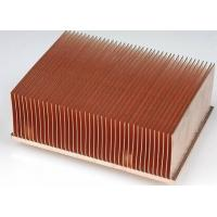 Buy cheap Thin Stacked Zipper Fin Heat Sink from wholesalers