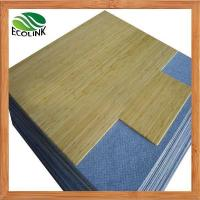 China Bamboo Office Chair Floor Mat on sale
