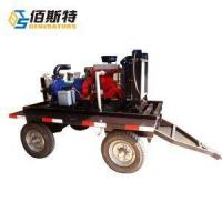 China Trailer / Portable Diesel Water Pump for Sludge or Irrigation Farm on sale