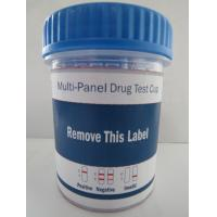 Buy cheap One Step Multi-Drug Urine Test Cup from wholesalers