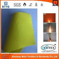 China Pyrovatex 100% cotton flame retardant twill fabric used in uniform on sale