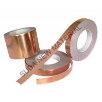 Buy cheap Double Sides Copper Polyester Tape For Communication Cable And Power Cable Shielding from wholesalers