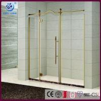 Wholesale Products Semi-Frameless Alcove Pivot Shower Enclosure,Custom Floating Glass,Classcial Style(KD3413) from china suppliers