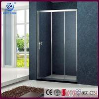 Wholesale Products Cheap Alcove 3 Sliding Bi Fold Shower Screen ,Chrome Finish (KD4001) from china suppliers