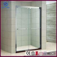 Wholesale Products New Online Offset Bypass Sliding Shower Enclosure, 5 Foot Glass Shower Door (KD5211A) from china suppliers