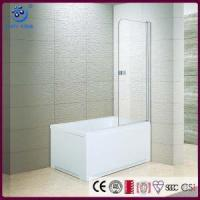 "Wholesale Products Frameless Pivot Bathroom Tub Shower Door,1/4"" Clear 2 Panels (KD3201T) from china suppliers"