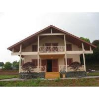 Buy cheap Two-storey Russian Pine Wooden Villa for Vacation from wholesalers