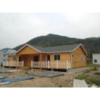 Buy cheap Prefabricated Modern Office Wooden House from wholesalers