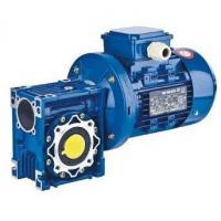 China NMRV+MOTOR single stage worm gear reducer on sale