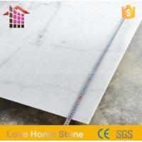 China Italy White Carrara Marble Slabs and Tiles for Bathroom for Sale on sale