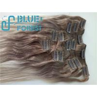 Wholesale Double Drawn Clip In Brazilian Hair Extension Large Stocks Any Color Size 8-30inch Customization Ava from china suppliers