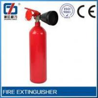 Buy cheap CHAOLI Nozzle PVC Rubber 22kg south america type co2 wheeled fire extinguisher from wholesalers