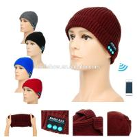 Buy cheap Fashion Accessories Best Selling Man Women Knitted Beanie Wireless Bluetooth Music Hat Cap from wholesalers
