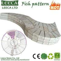 Wholesale LEECA Fish pattern paver garden decor stone from china suppliers