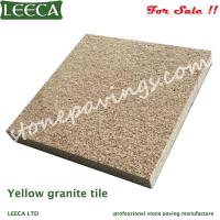 Wholesale LEECA Yellow paver stones outdoor tiles for driveway from china suppliers
