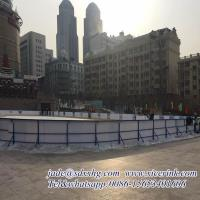 Wholesale Virgin hdpe hockey dasher board/ portable ice floor/ uhmwpe ice skating rink from china suppliers